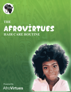 A SIMPLE DAILY HAIR CARE ROUTINE FOR BEAUTIFUL, HEALTHY HAIR