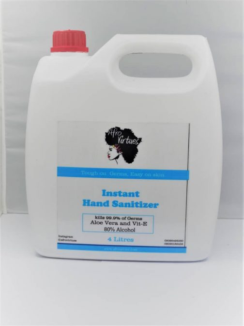 afrovirtues Instant hand sanitizer